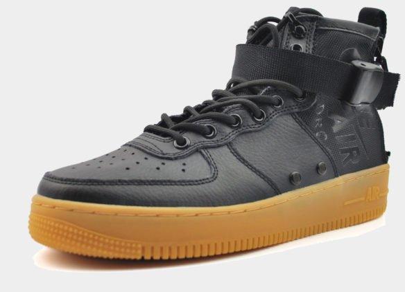 Nike SF Air Force 1 Mid черные