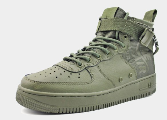 Nike SF Air Force 1 Mid хаки