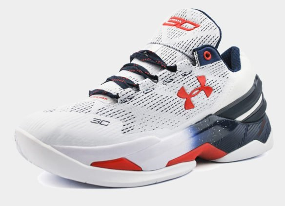 Under Armour Curry Two белые с синим