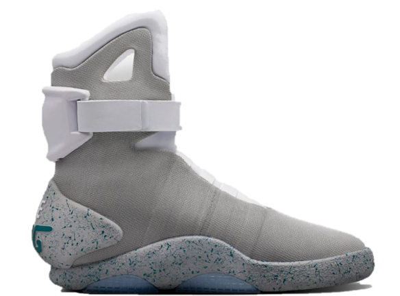Фото Nike Mags from Back to the Future серые - 2