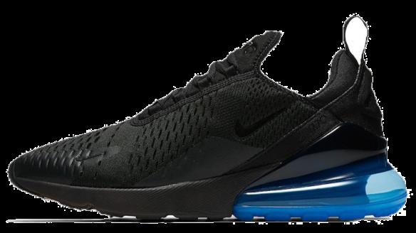 Фото Nike Air Max 270 Черные с Синим - 3